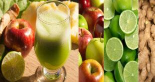 Como Preparar uma Limonada Detox com Maçã e Gengibre